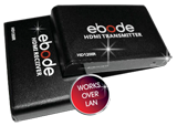 ebode HDMI extender over single CAT5e/6 (also over LAN) with IR!