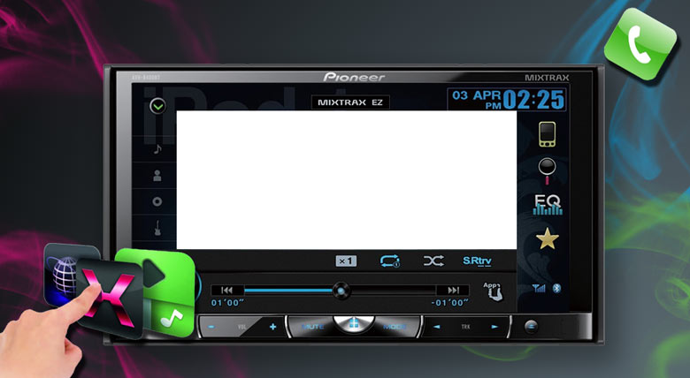 Car radio systems Audio / Video, Navigation, Subwoofer