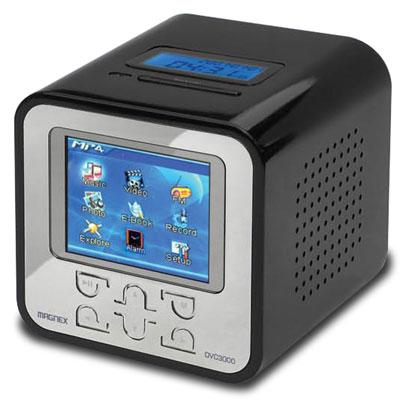 Magnex digital video cube dvc302g lettore mp3 wma wav mp4 for Da mp4 a mp3
