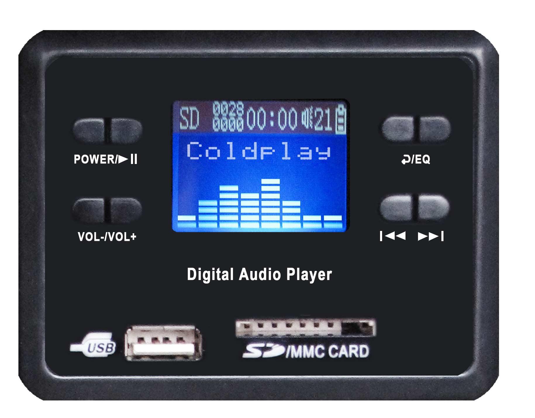 Karma bx 6512a box amplificato 300w mp3 overload - Lettore mp3 da tavolo ...