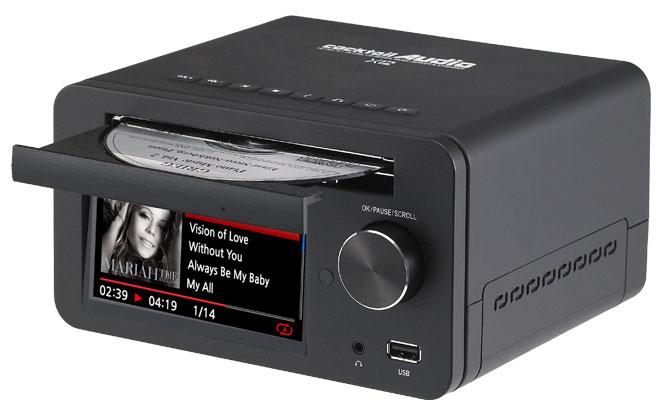 Cocktail audio x12 music server hi fi hd con lettore cd - Lettore mp3 da tavolo ...