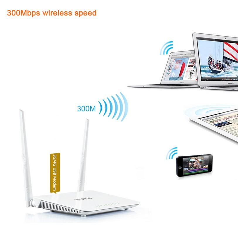 Tenda i wl 4g630 router wireless usb n300 3 porte lan - Porta wan router ...