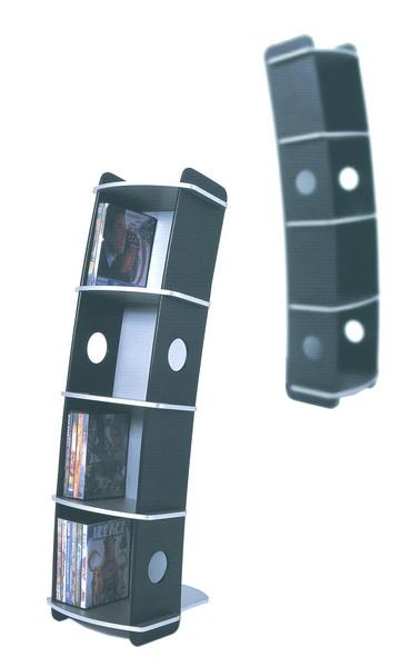 G bl dvs3072 porta dvd da pavimento in legno 56pz - Porta dvd in legno ...